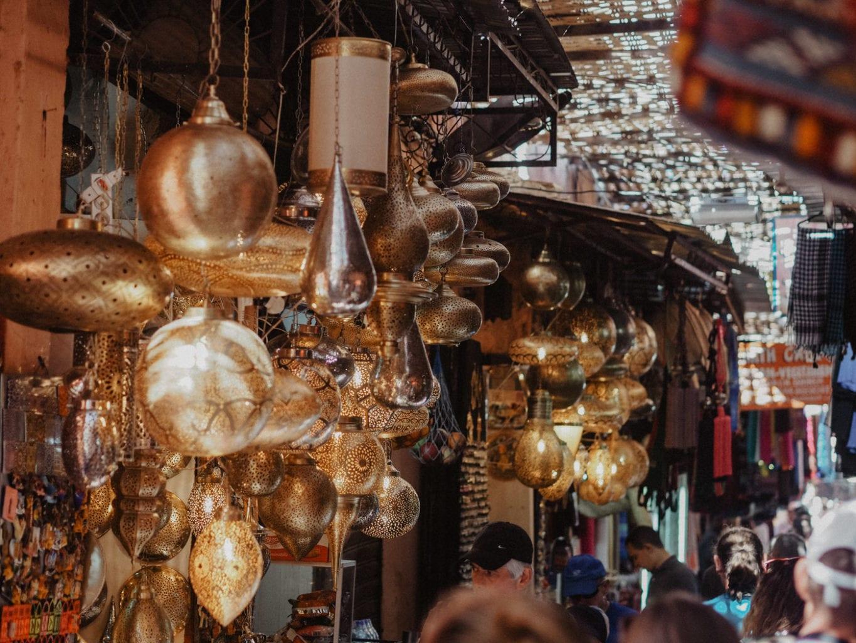 maroko bazar pamiątki