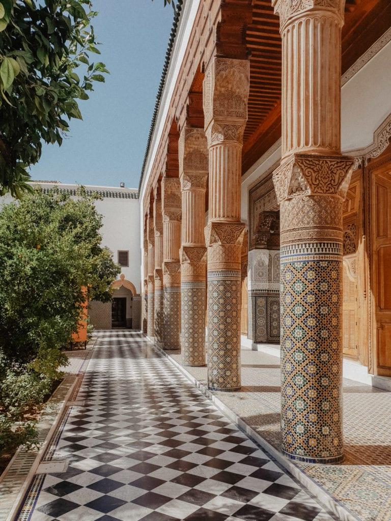 Pałac El-Bahia marrakesz