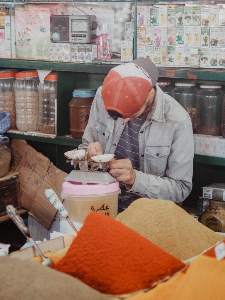 agadir przyprawy maroko