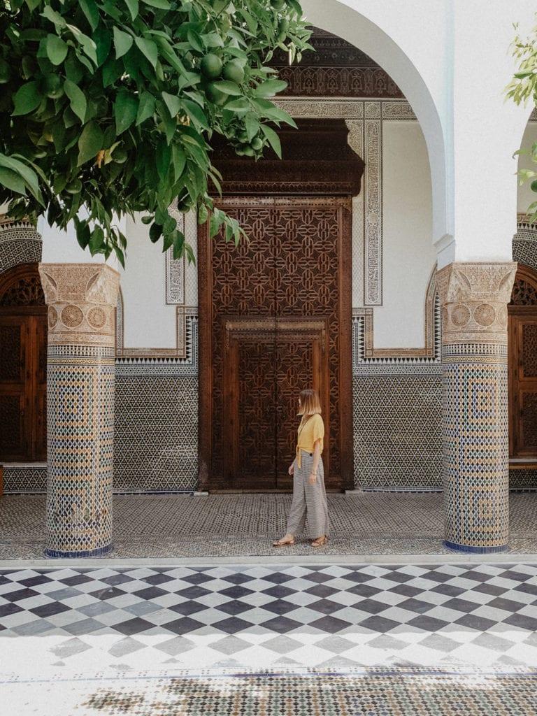 maroko Palac El-Bahia