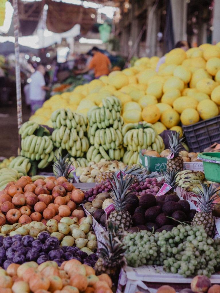 maroko owoce i przyprawy