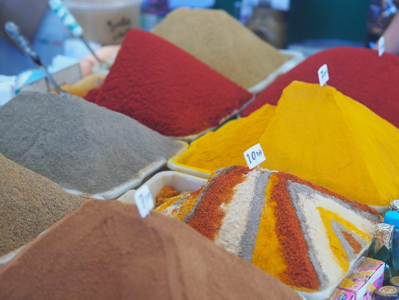 maroko zapach przypraw