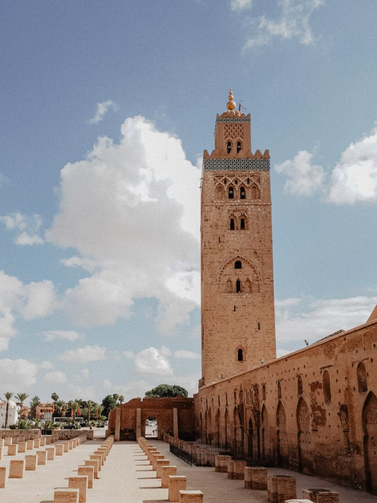 marrakesz minaret