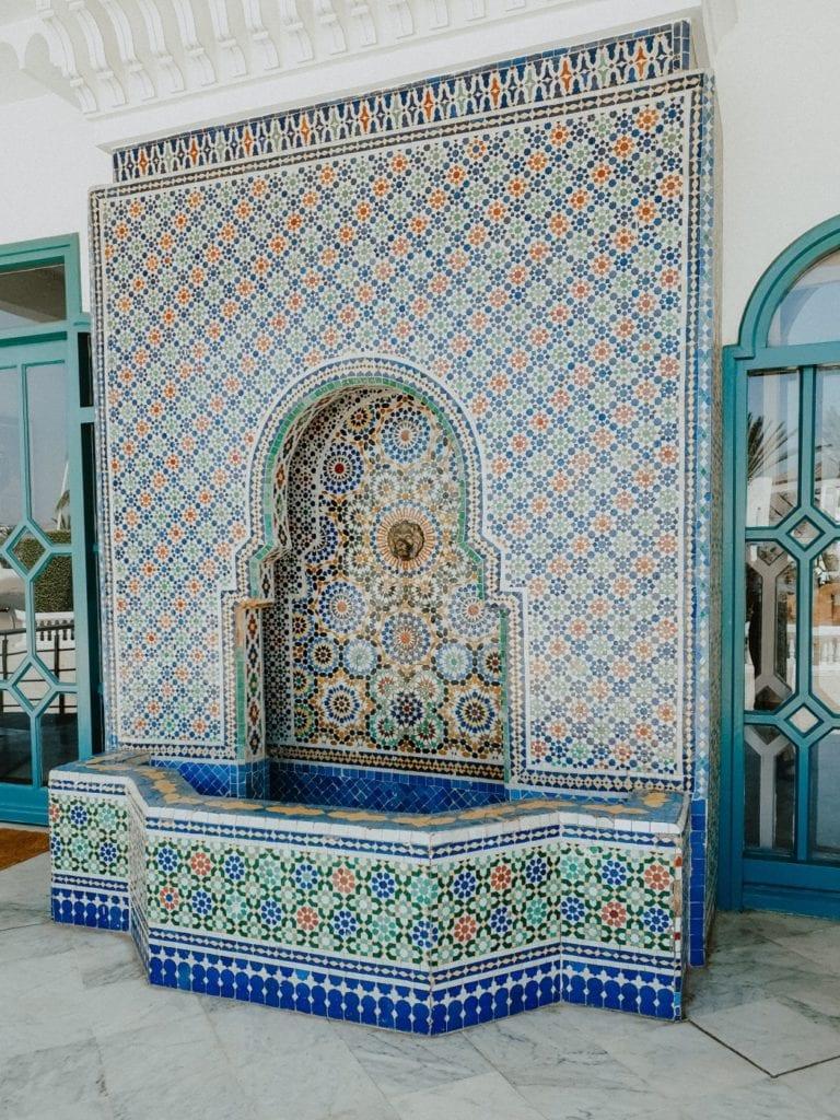 mozaiki w maroko