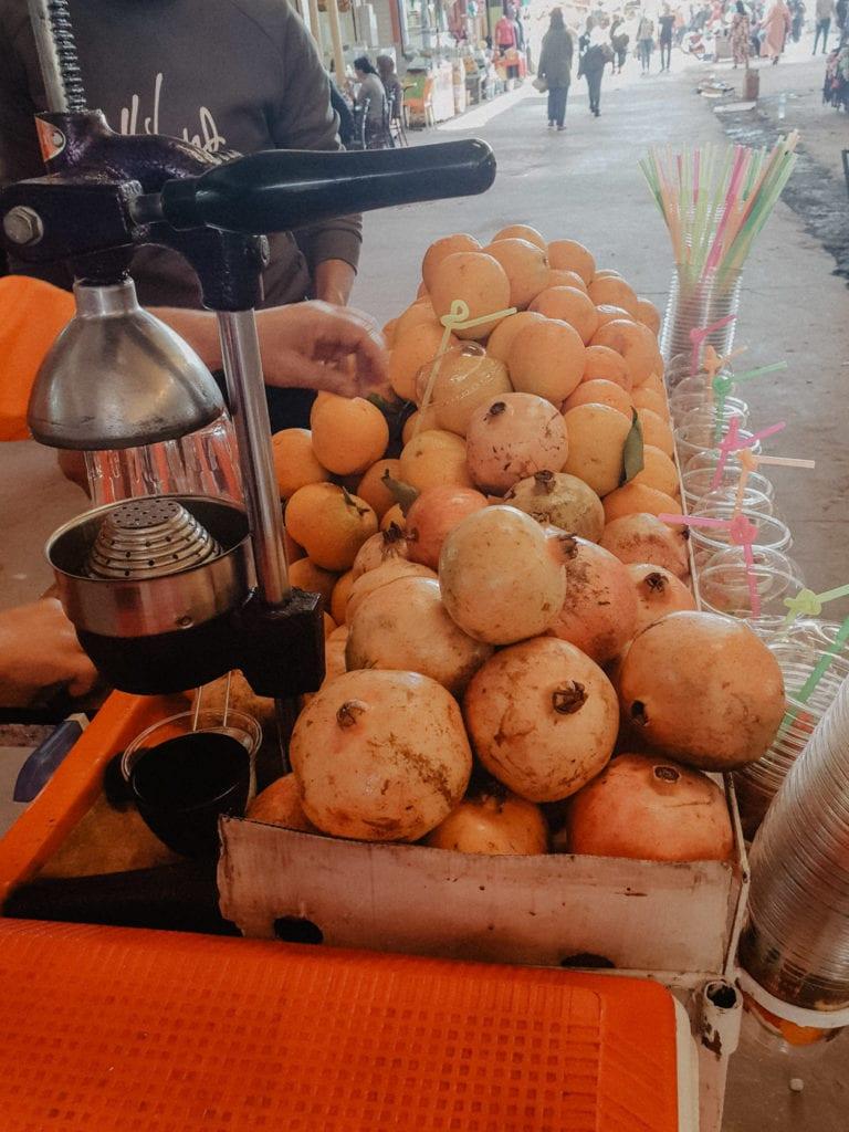 owoce maroko