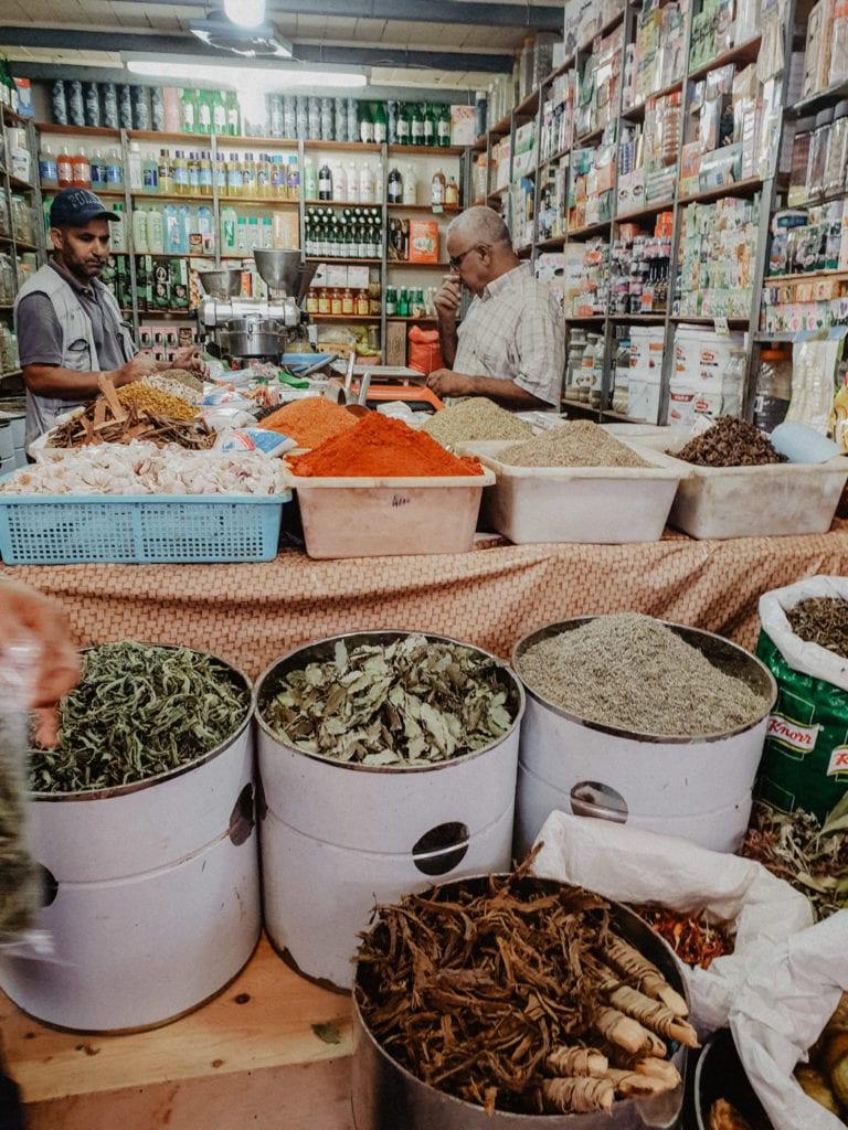 przyprawy maroko