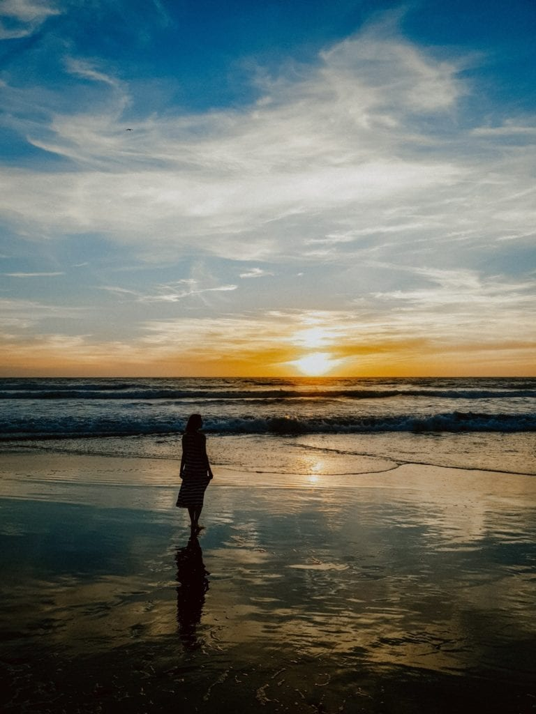 zachód słońce maroko