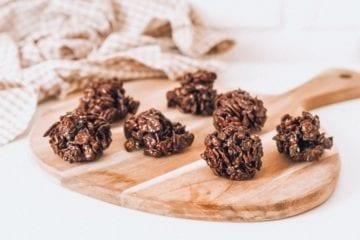 szybkie ciasteczka czekoladowe bez pieczenia