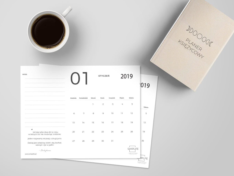 kalendarz 2019 do pobrania