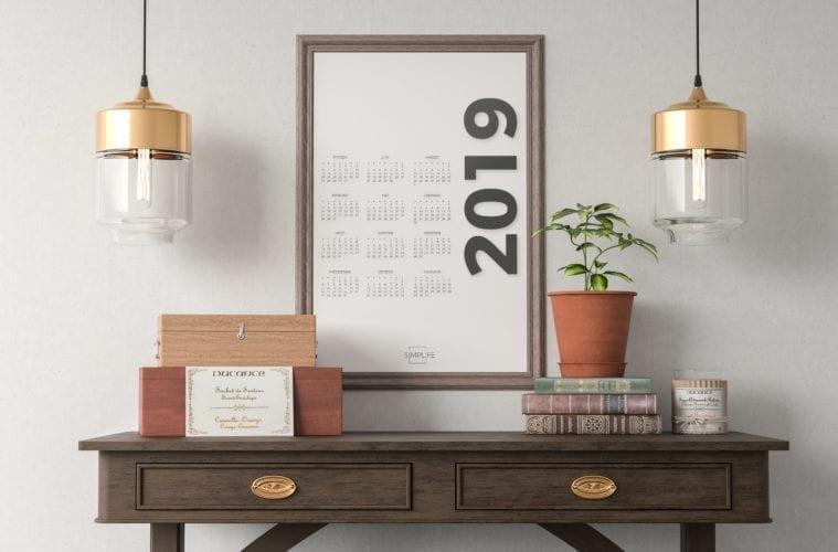 darmowy kalendarz 2019