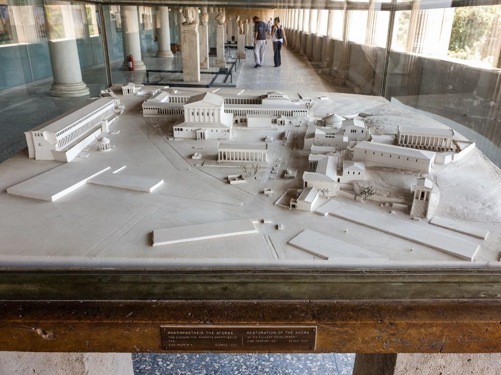 akropol makieta