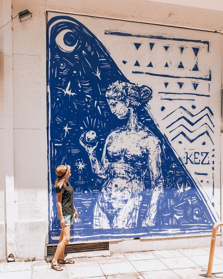 ateny murale