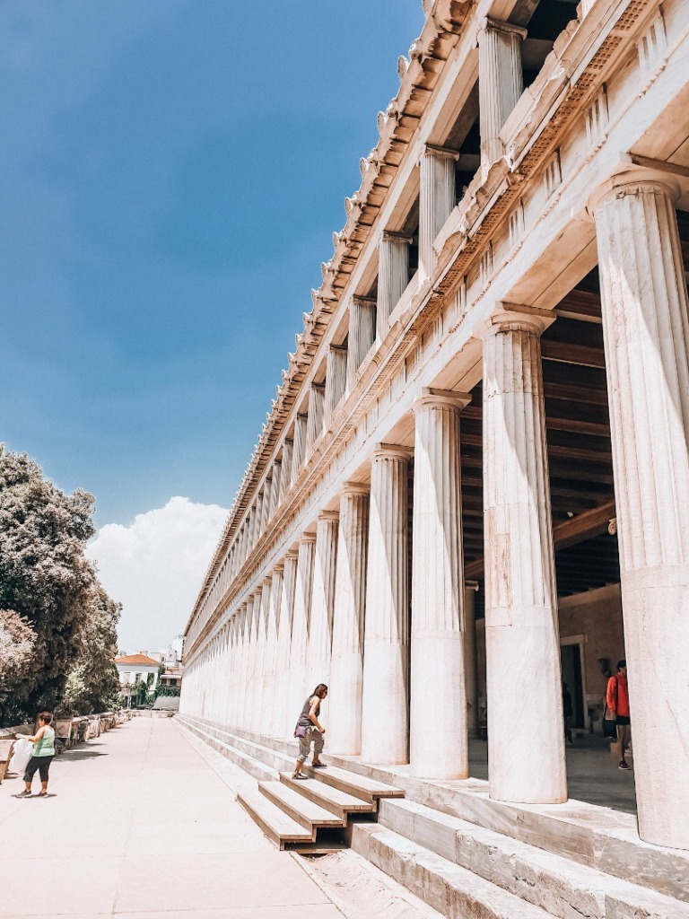 stoa akropol
