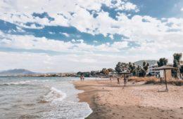 plaża ateny