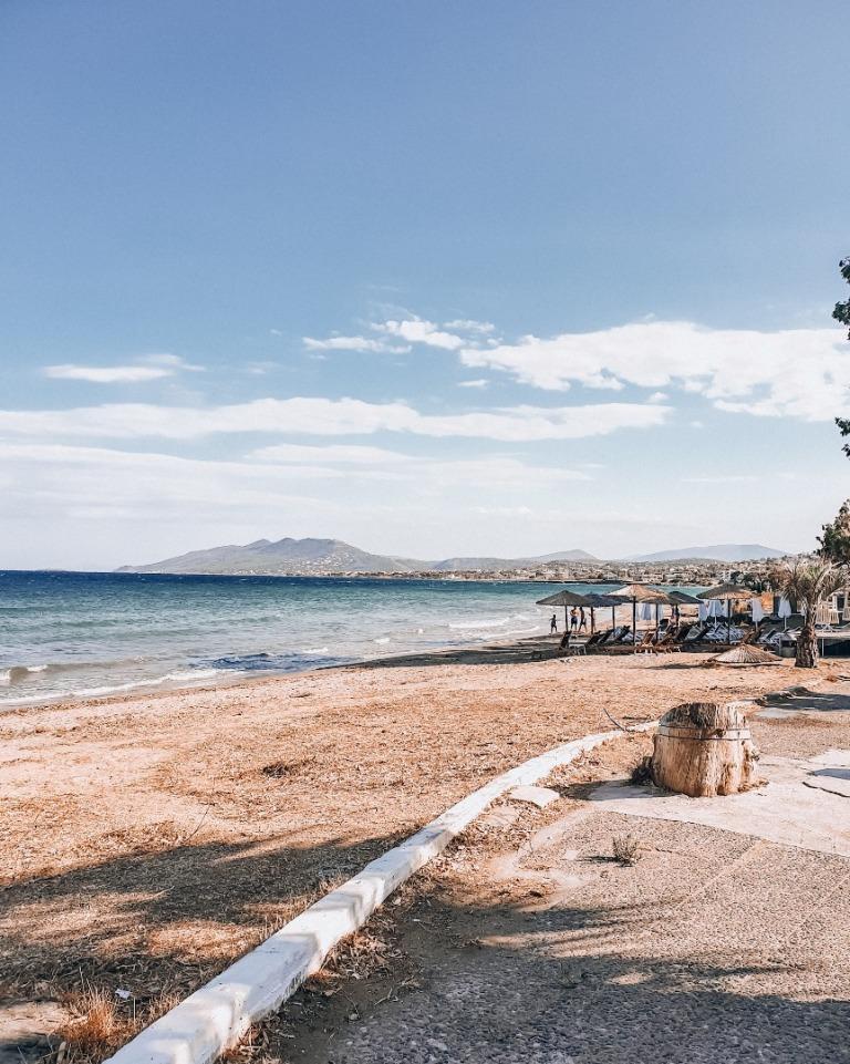plaża w atenach