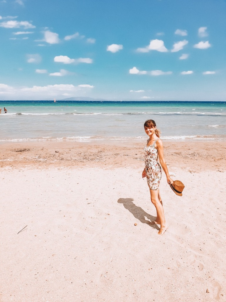 plaże ateny
