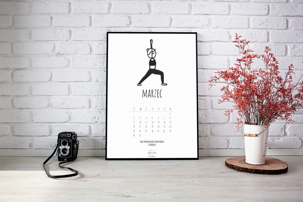 kalendarz 2020 joga