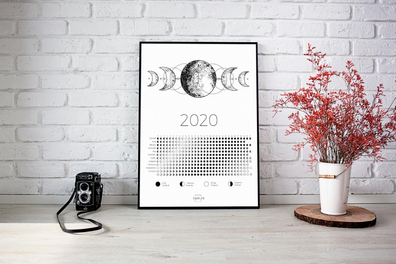 kalendarz fazy księżyca