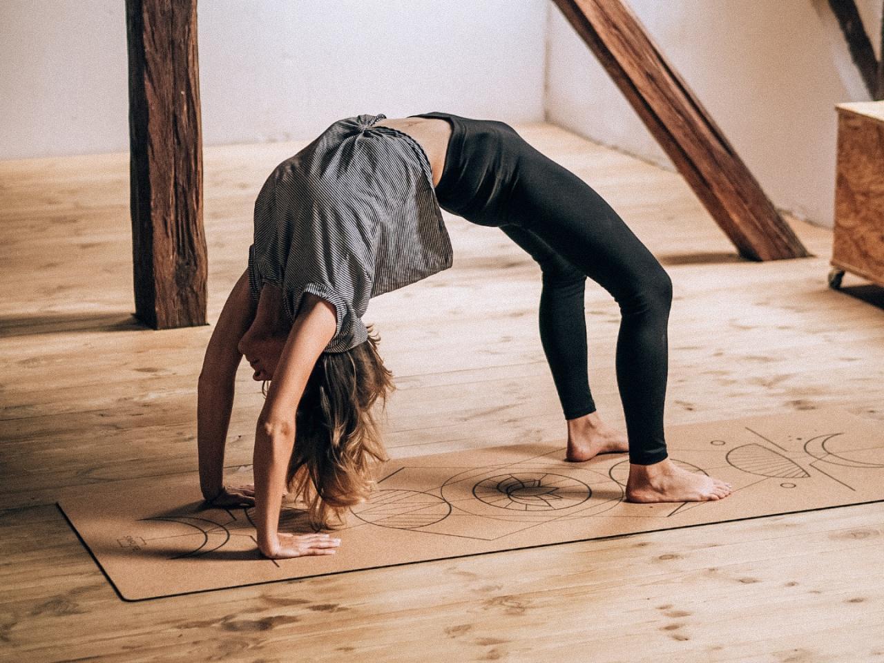 prezent dla joginki mata do jogi