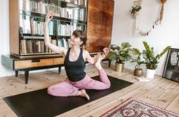 majowka z joga w domu